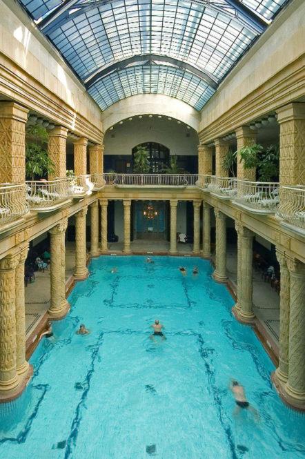 Gellert Bath Indoor Palace Gellert Spa