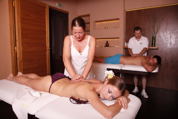 Gellert Spa Bath Couples Massage