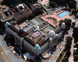 Gellert Spa Bath and Hotel Aerial Photo