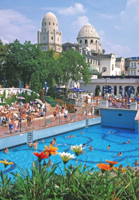Gellert Spa Baths Outdoor Thermal Pools