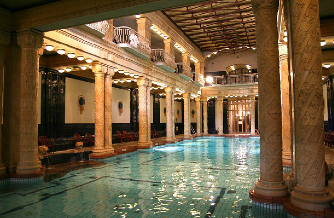 Gellert Swimming Pool Palace