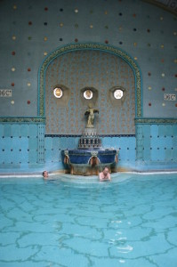 Geo thermal Pool Gellert Spa Baths Art Nouveau Budapest