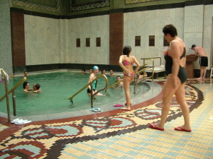 Indoor Thermal Bath in Gellert Spa Budapest