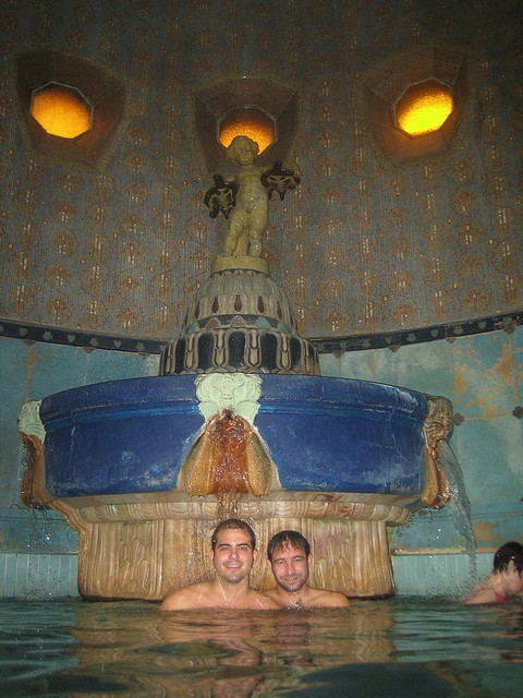 Gellert Spa Bath Budapest Pools