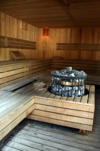 Sauna in Budapest Gellert Bath Spa