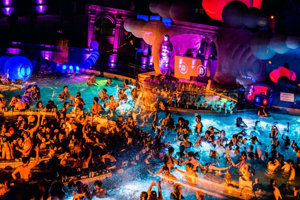 Szechenyi Baths Spa Party Budapest NY parties