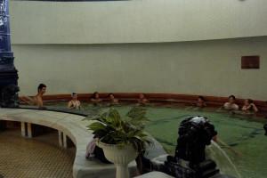 Mixed Thermal Pool in Gellert Spa