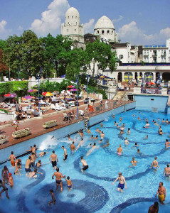 Gellert Spa Outdoor Bath Pools