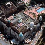 Gellert Spa Arial Budapest