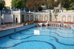 Gellert Spa Art Nouveau Outdoor Pool Budapest