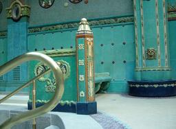 Gellert Spa Art Nouveau Tiles Budapest
