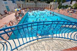 Gellert Spa Open Air Pool Budapest